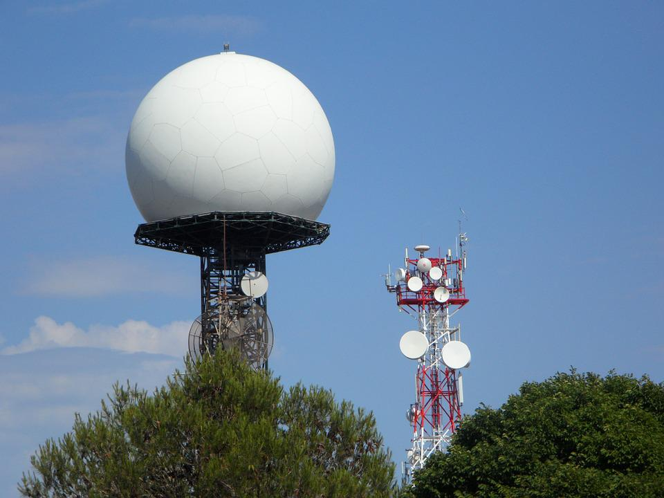 Radar, Radar Station, Masts, Radio, Transmission Tower