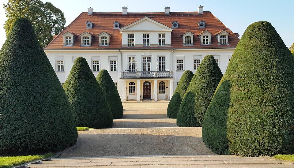 Schloss Wackerbarth, Winegrowing, Saxony, Radebeul