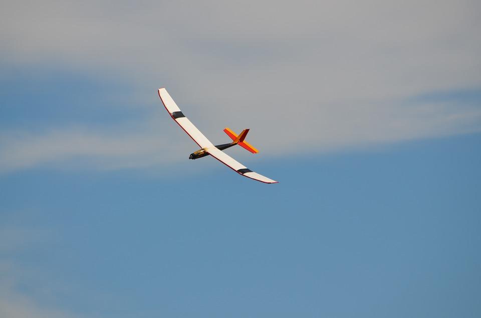 Glider, Rc Glider, Radio Controlled Plane, Flying