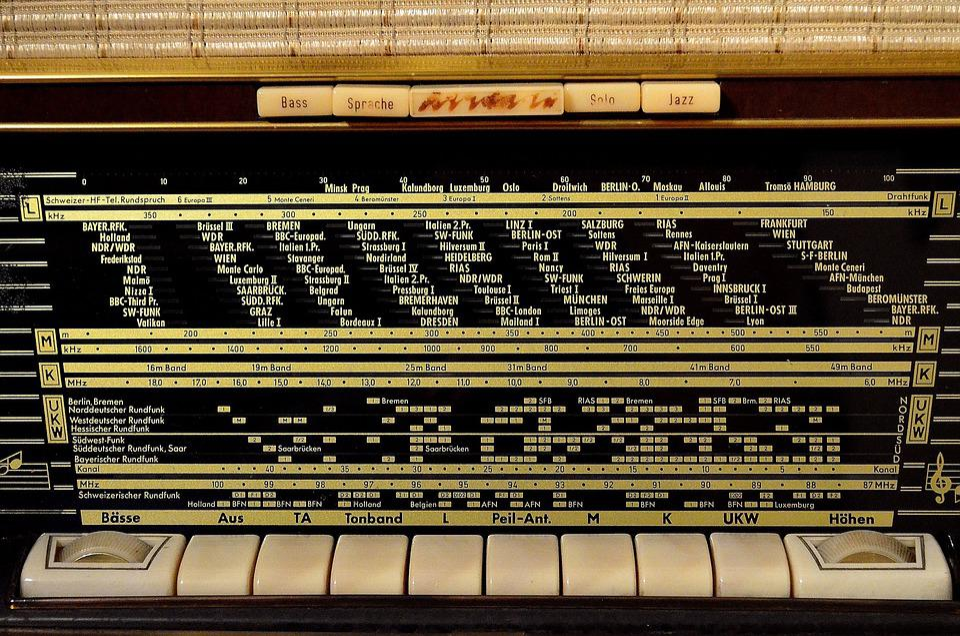 Radio, Tube Radio, Radio Device, Frequency