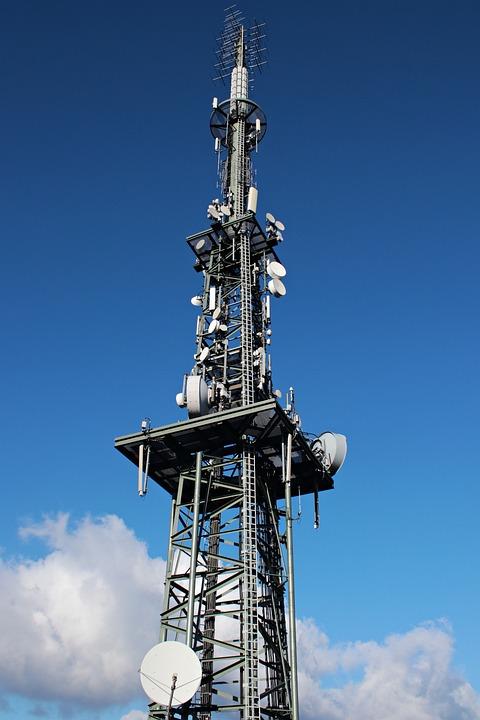 Transmission Tower, Radio Tower, Radio Mast, Mast