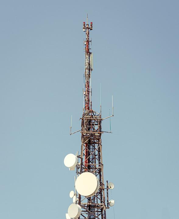 Telecommunications Tower, Radio Mast, Tower