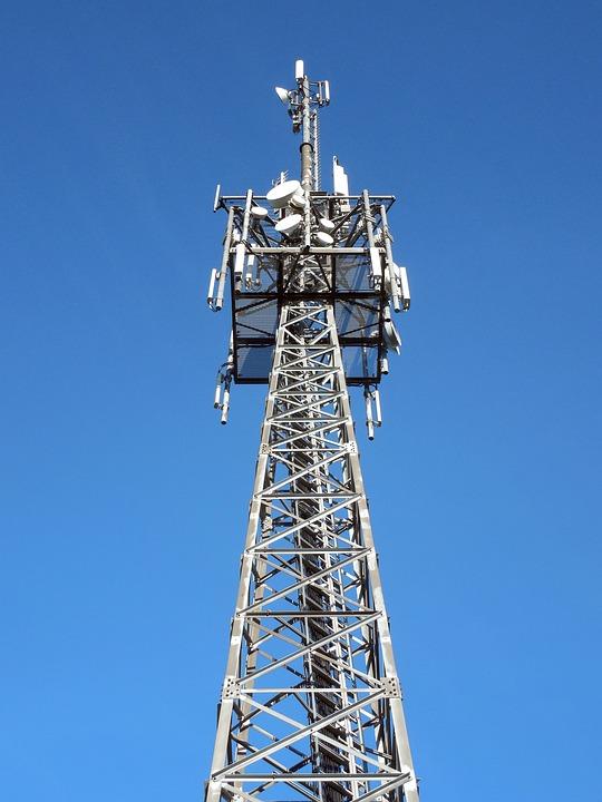 Transmission Tower, Send, Radio, Reception, Antenna