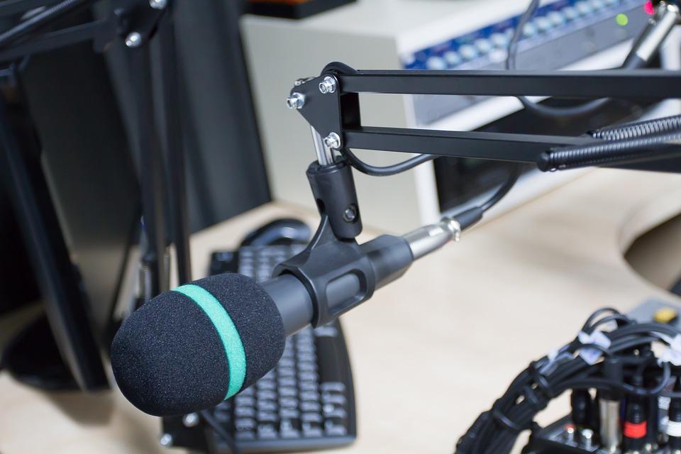 Radio, Studio, Sound, Broadcasting, Recording, Station