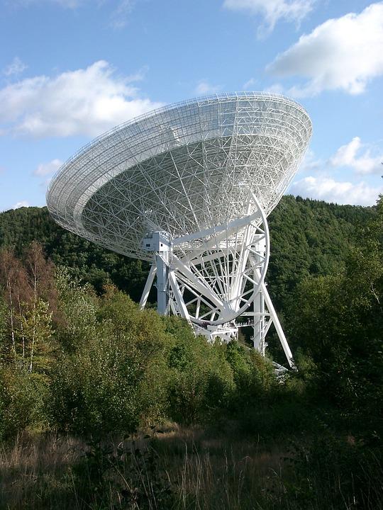 Radio Telescope, Telescope, Antenna, Large Telescope