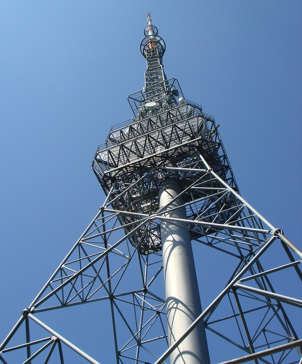 Antenna, Radio Tower, Tower, Delivery, Communication