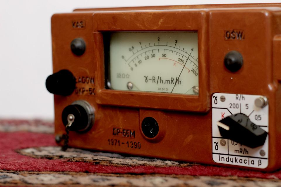 Vulture Counter, Military, Old, Radiometer, Radioactive