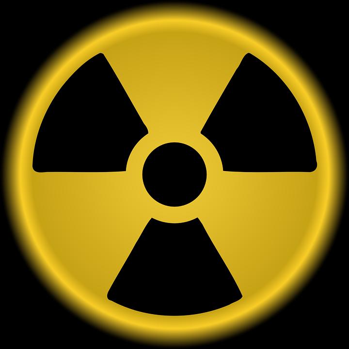 Radioactive, Nuclear, Warning, Danger, Yellow, Radium