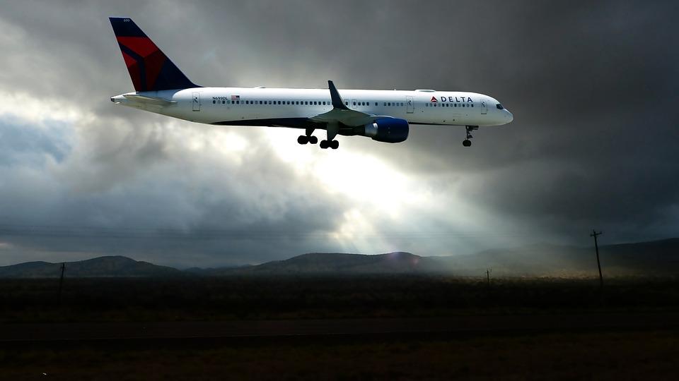 Aircraft, Stormy, Sky, Radius, Sun, Clouds, Weather