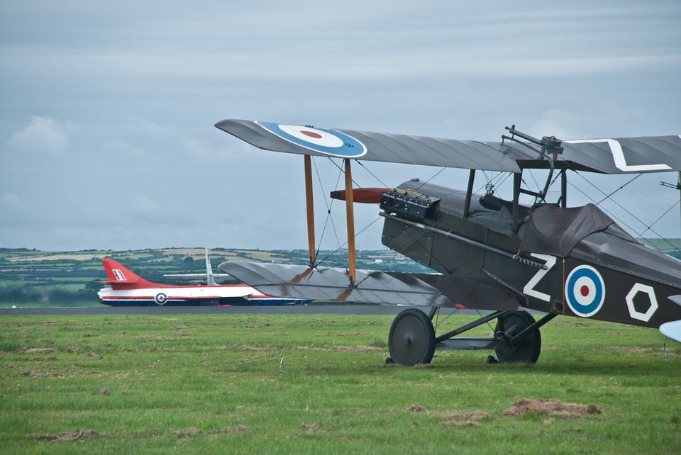 Raf, Biplane, Bi, Plane, Sopwith, Jet, Hunter, Aircraft