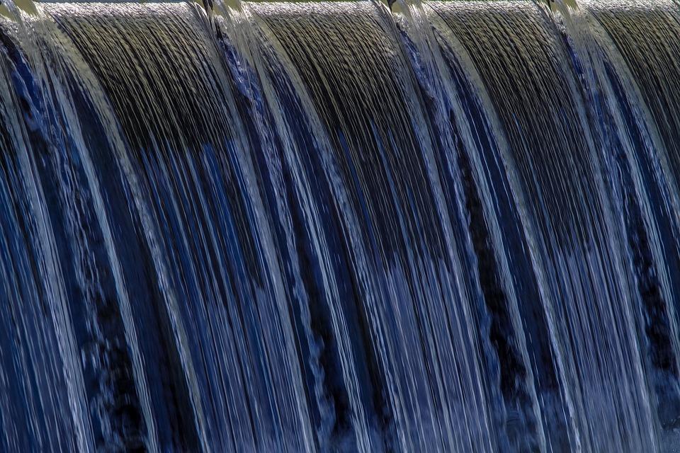 Water, The Cascading Water, Waterfall, Swim, Rafting