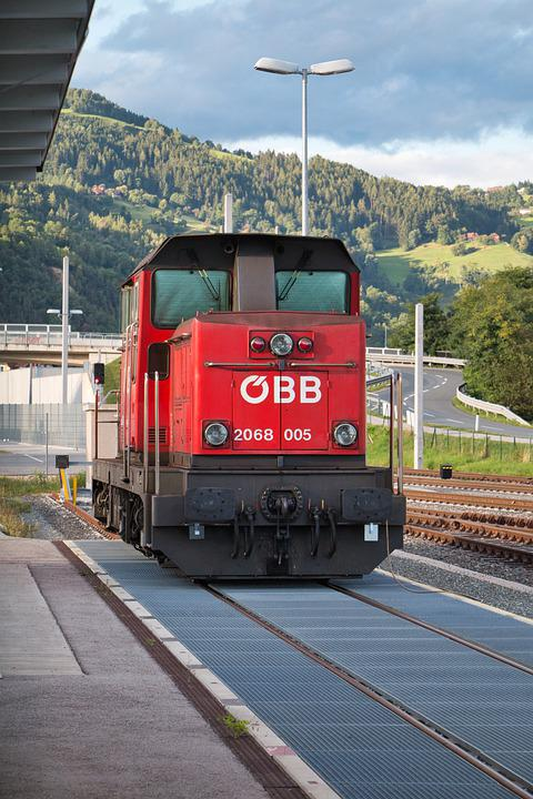 Train, Locomotive, Railroad, Station, Rail