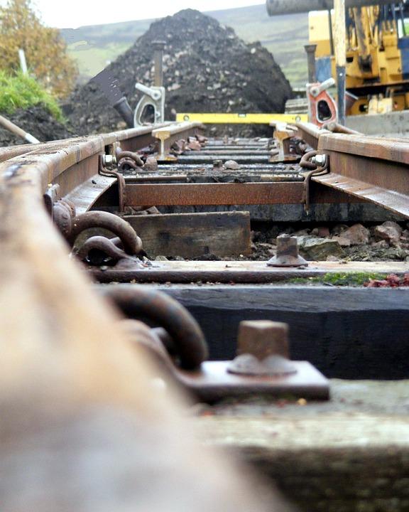 Railway, Rail, Track, Train, Transport, Railroad