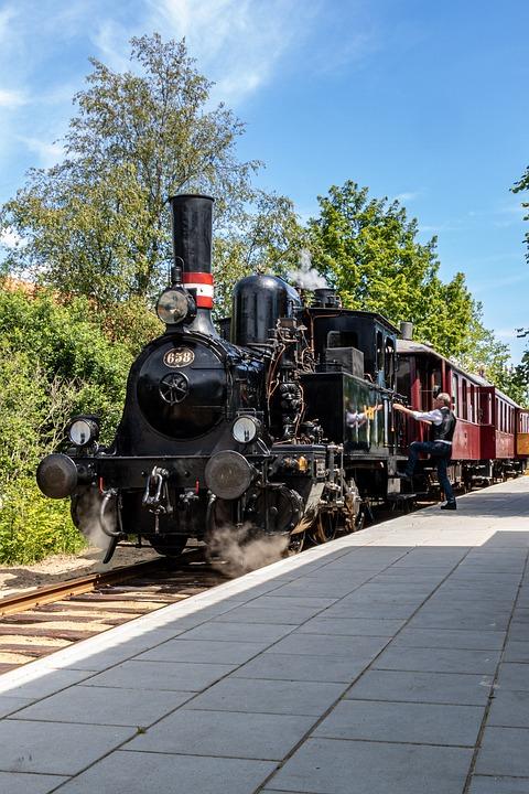 Locomotive, Steam, Train, Rail, Steam Locomotive