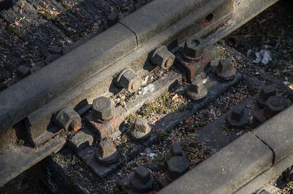 Rail Track, Railway, Rails, Gleise, Transport, Train
