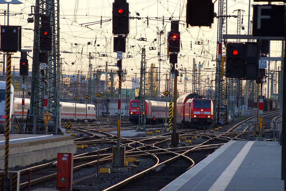 Railway Station, Gleise, Rail Traffic, Remote Traffic