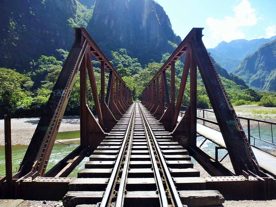 Bridge, Railway, Rail, Rail Traffic, Train