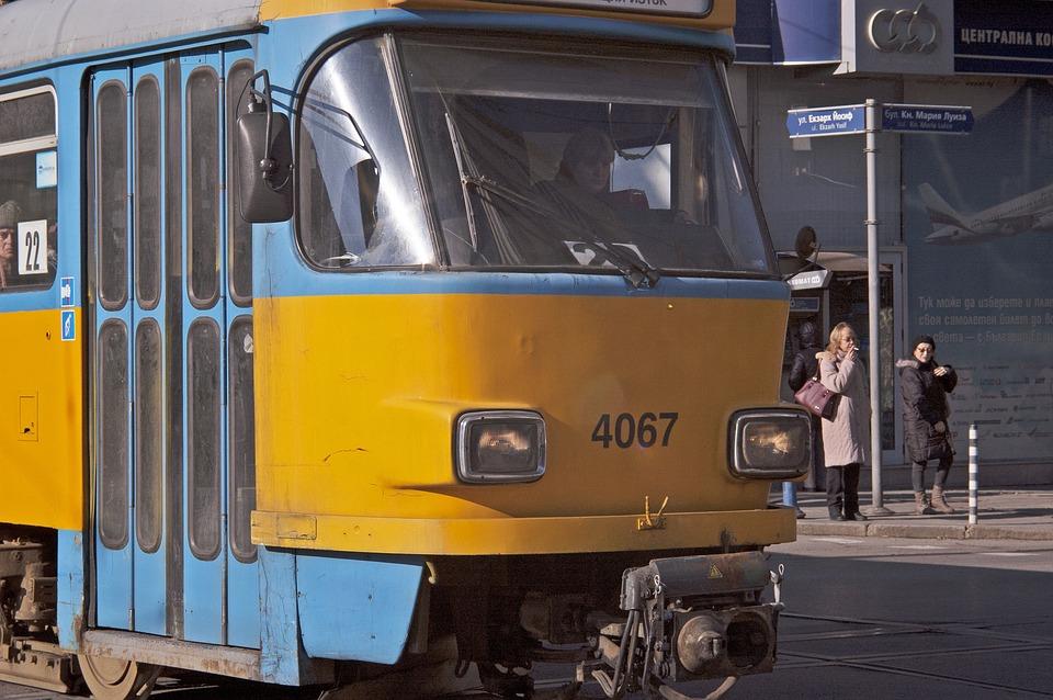 Transportation, Trolley, Tram, Old, Urban, Rail
