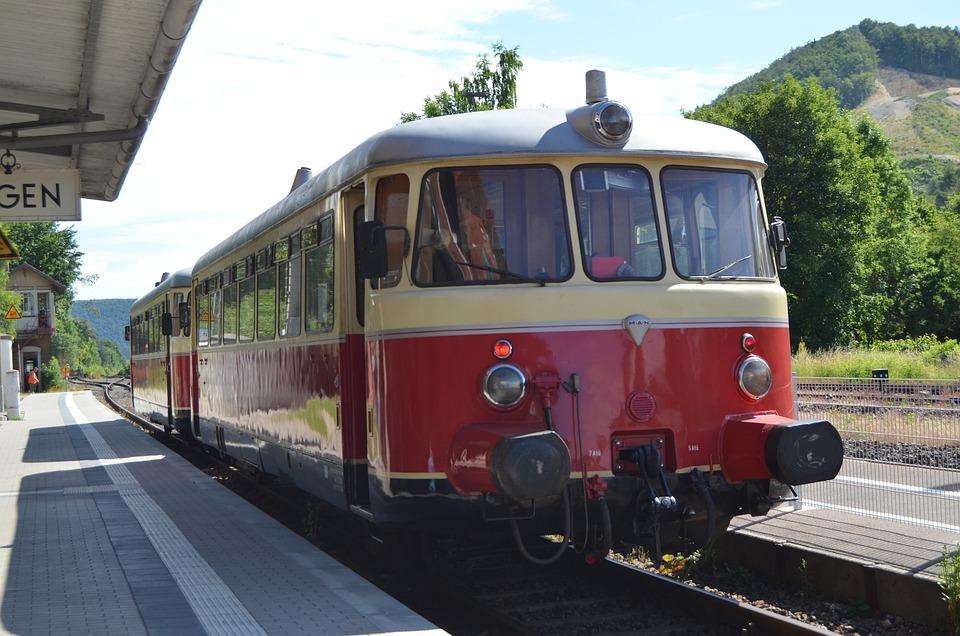 Railcar, Schelklingen, Special Crossing