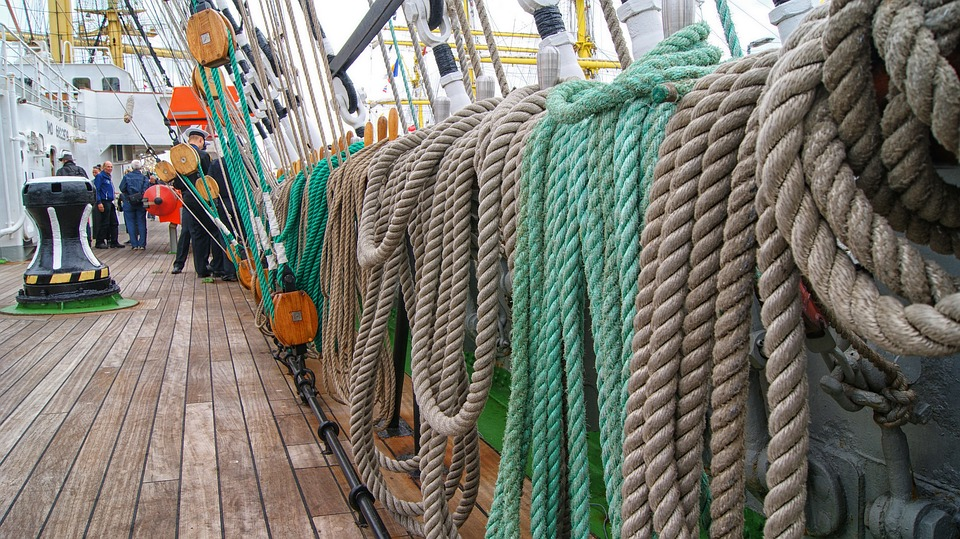 Ropes, Ship, Tros, Boat, Knot, Fix, Railing, Rope, Cord