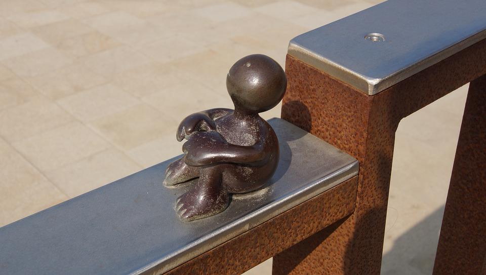 The Hague, Sculpture, Railing, Metal, Art