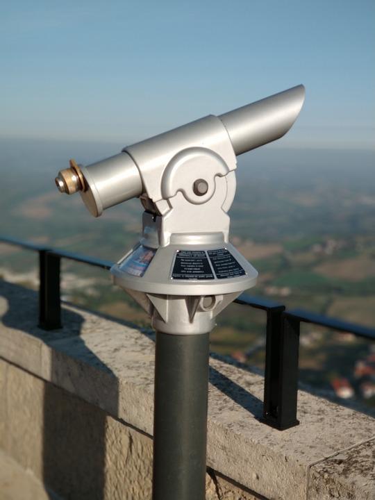 Telescope, Height, Railing