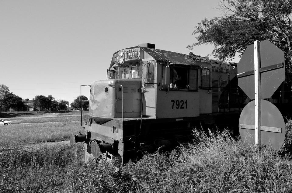 Train, Railroad, Crazy