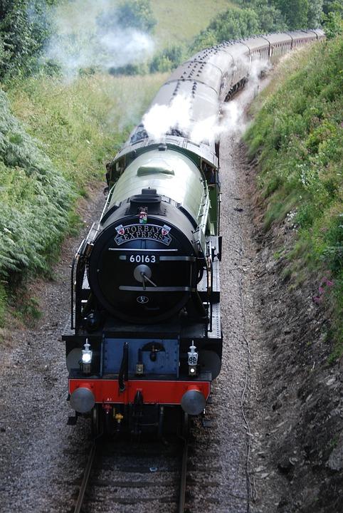 Train, Railway, Railroad, Locomotive, Steam, Travel