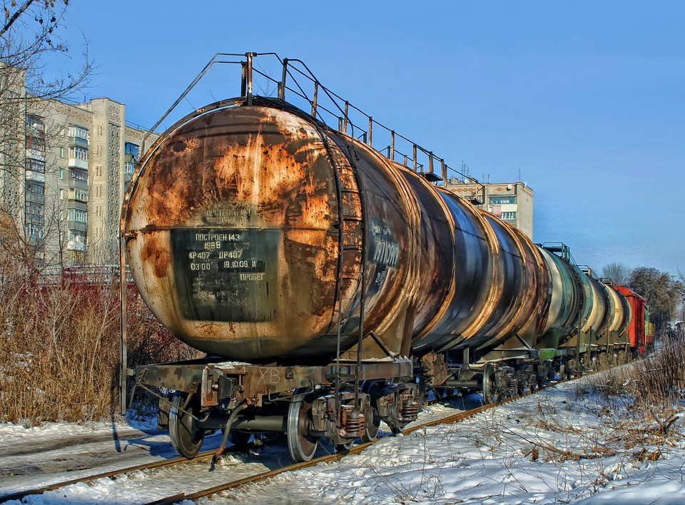Ukraine, Tank Cars, Railroad, Railway, Travel