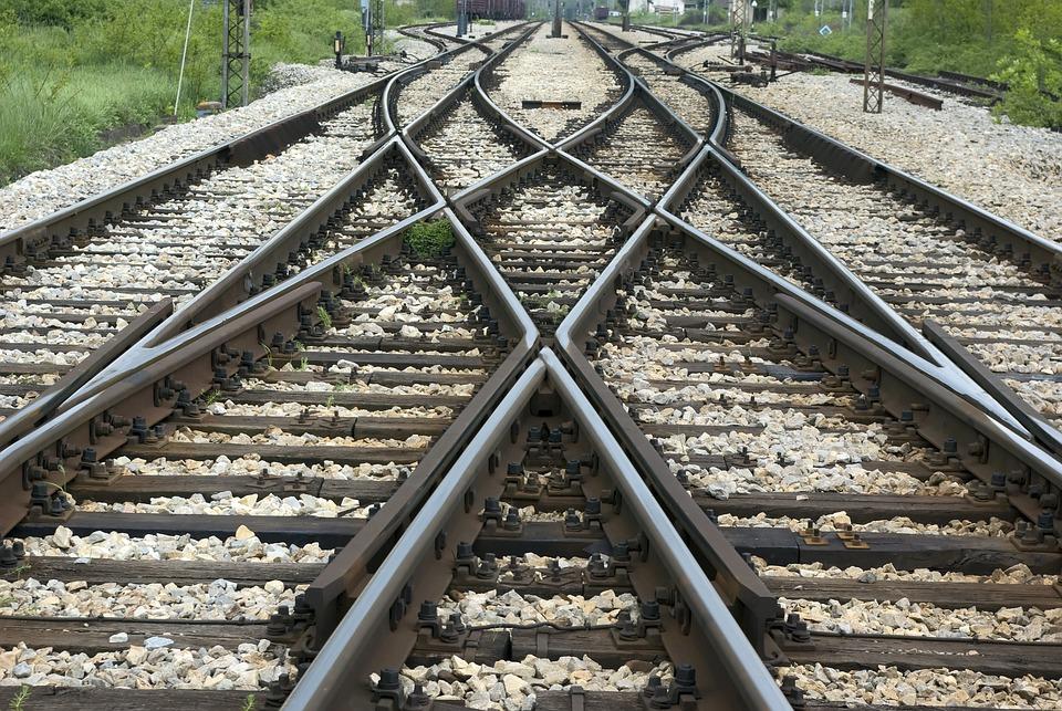 Railroad, Crossroads, Track
