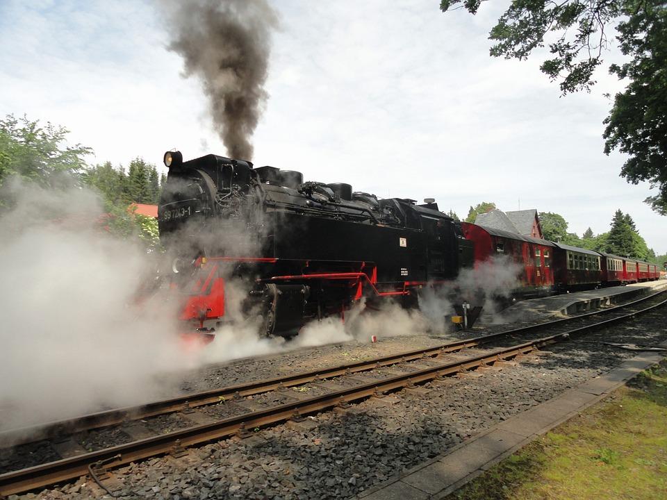 Germany, Train, Railroad, Railway, Track, Tracks