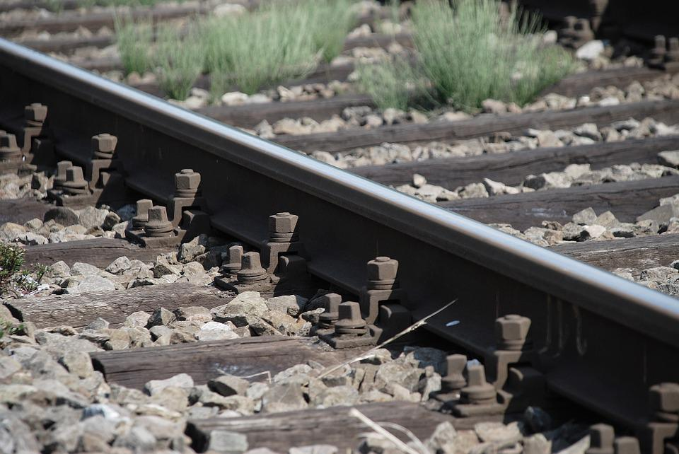 Railroad Tracks, Railway, Rail, Transport