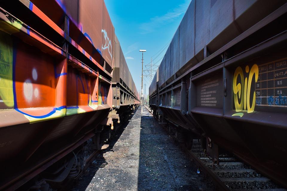 Railway, Train, Transport, Traffic, Rails, Logistics