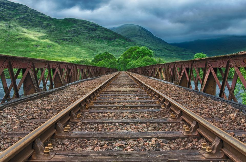 Railway, Rails, Track, Train, Railway Line, Endless
