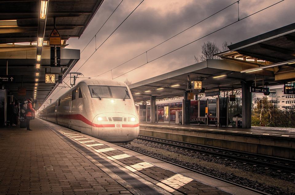 Train, Railway Station, Travel, Transport, Rails