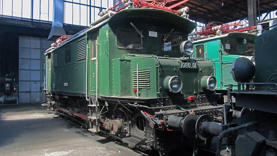 Electric Locomotive, 1080, 01, Railway