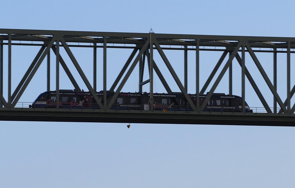 Railway, Railway Bridge, High Bridge, Canal Bridge