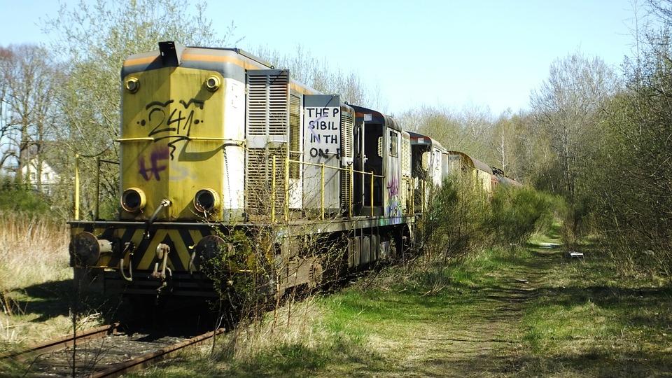 Railway, Railway Cemetery, Old Locomotive