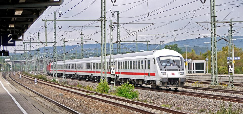 Intercity, Deutsche Bahn, Railway, Rail Traffic
