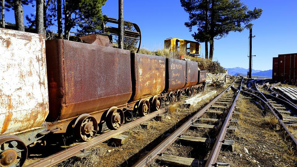 Free photo Railway Equipment Miner Rail Train Infrastructure - Max Pixel