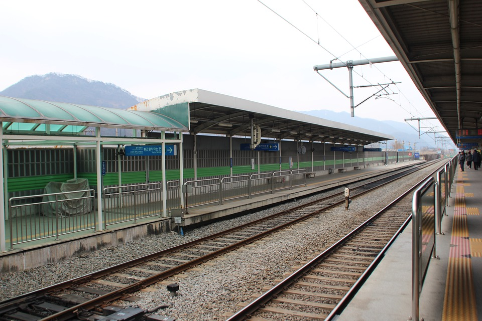 Korea, Railway, Line, The Railroad Line, Rail, Tunnel