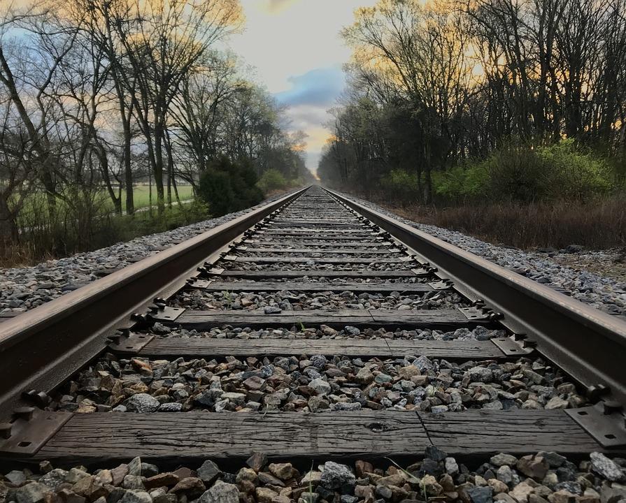 Railway, Railroad Track, Track, Train, Locomotive
