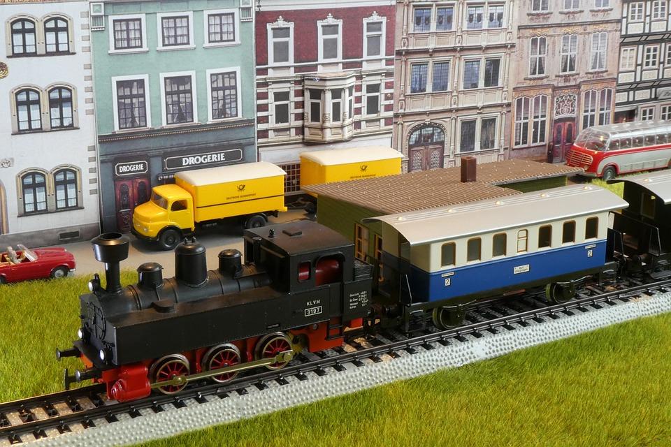 Model Train, Model Railway, Toys, Railway, Christmas