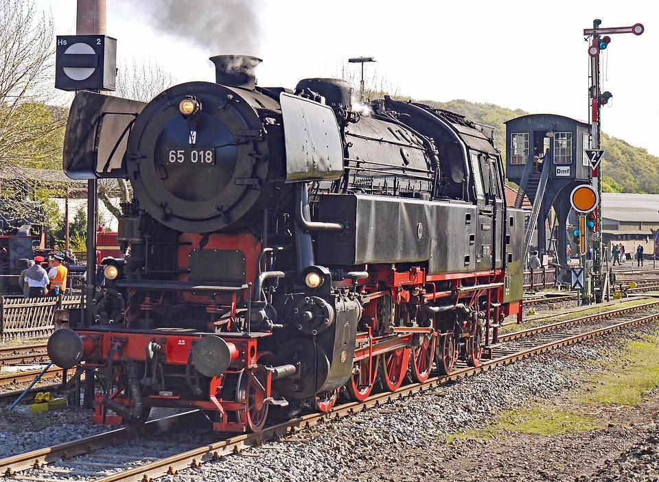 Steam Locomotive, Railway Museum, Bahnbetriebswerk