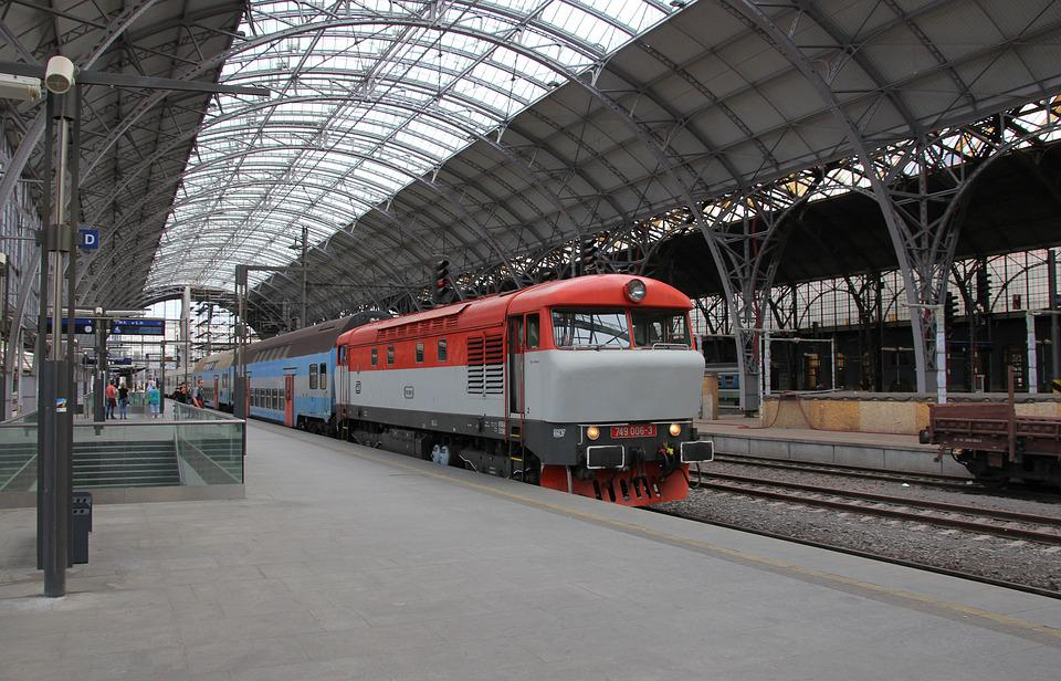 Diesel Locomotive, Locomotive, Railway, Passenger Train
