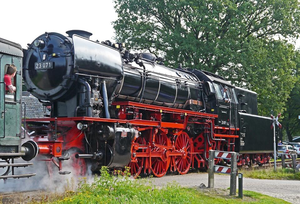 Steam Locomotive, Passenger Train, Event, Railway
