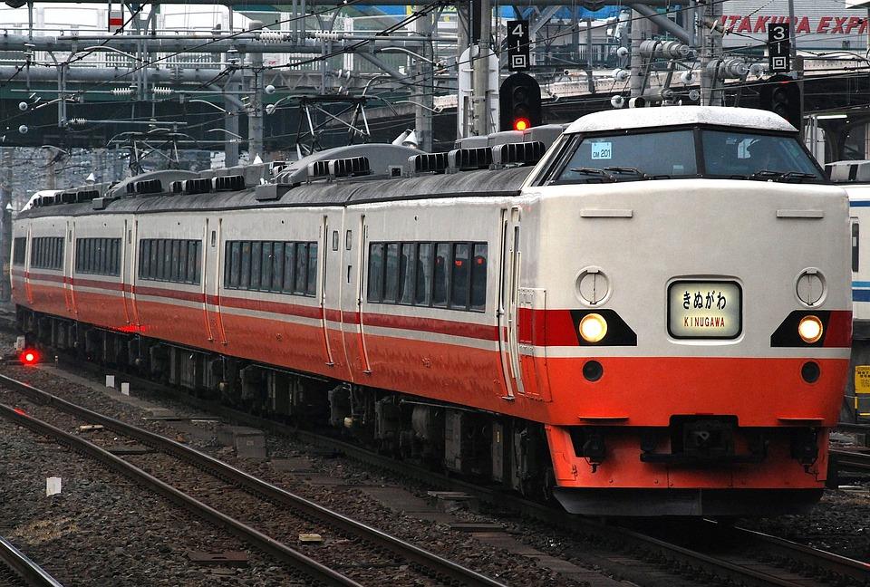 Train, Railway, Japanese, Modern, Public, Transport