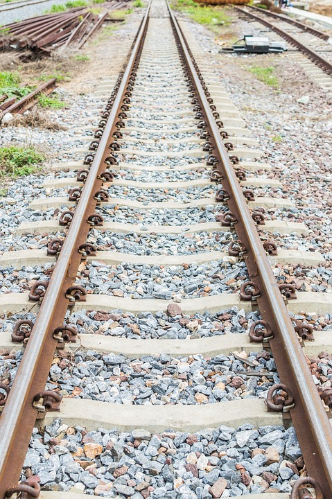 Railroad, Tracks, Train, Railway, Rail, Travel, Path