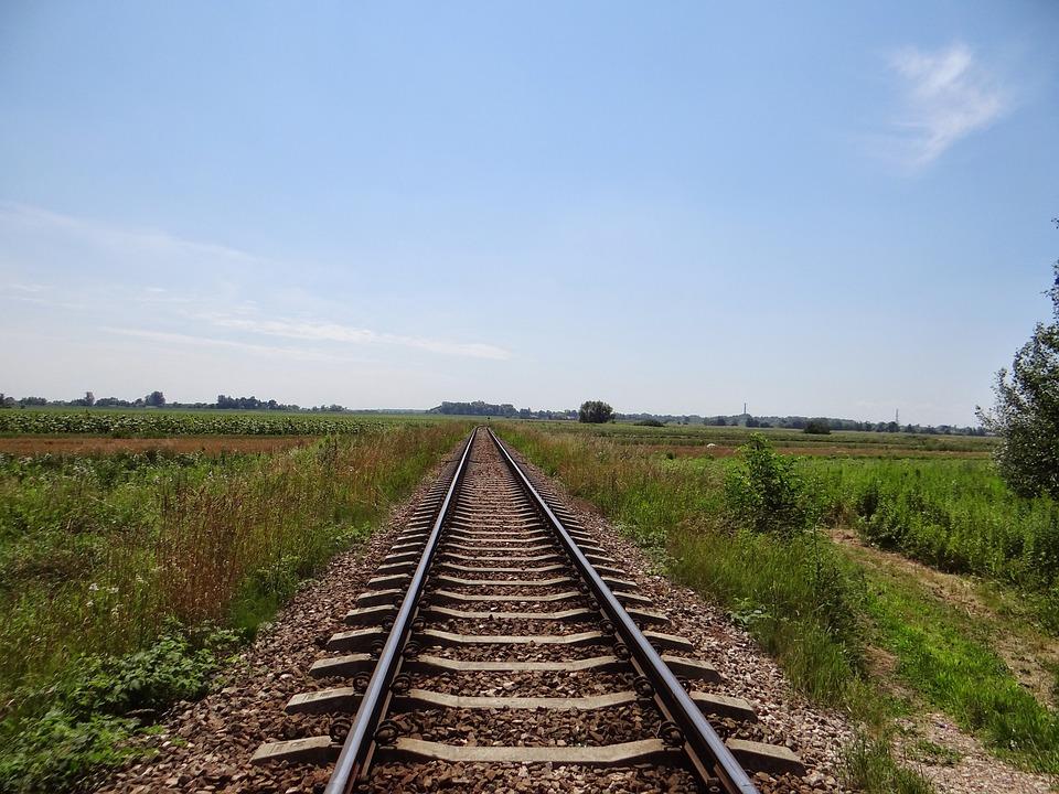 Tracks, Railway, Railroad Tracks, Transport, Rails