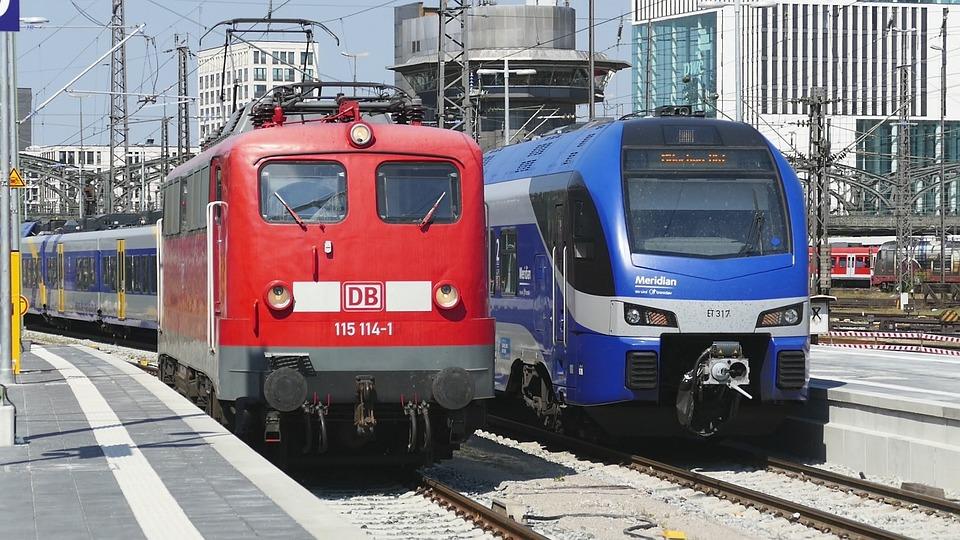 Train, Transport System, Railway, Traffic, Railway Line
